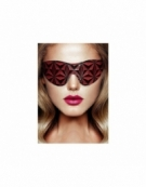 SHOTS OUCH! LUXURY EYE MASK BURGUNDY