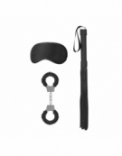 SHOTS OUCH! INTRODUCTORY BONDAGE KIT 1 BLACK
