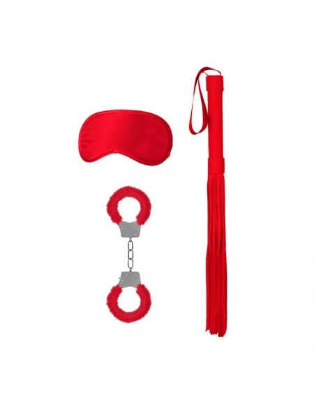 SHOTS OUCH! INTRODUCTORY BONDAGE KIT 1 RED