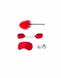 SHOTS OUCH! INTRODUCTORY BONDAGE KIT 2 RED