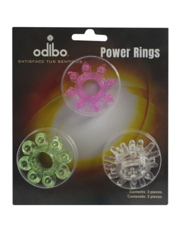 ODIBO POWER RINGS 3 PIECES