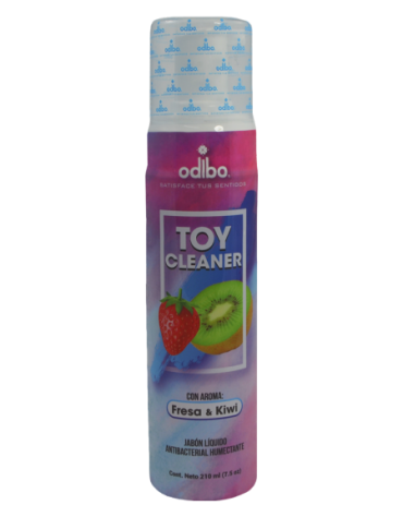 ODIBO TOY CLEANER ANTIBACTERIAL FRESA KIWI 210 ML