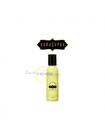 KAMASUTRA MASSAGE OIL 2 FL OZ. 59 ML.