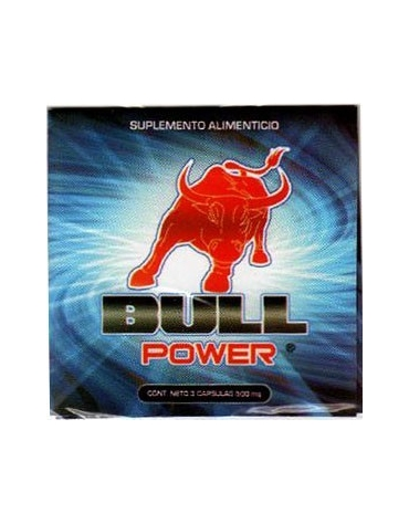 BULL POWER 3 CAPSULAS