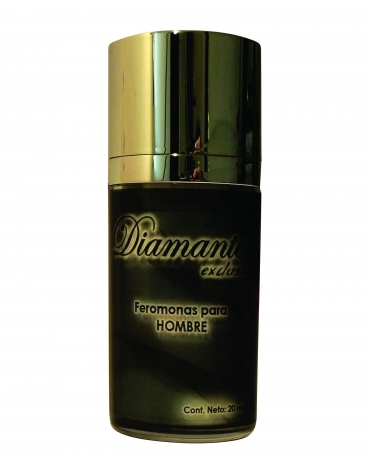 DIAMANTE EXCLUSIVE FEROMONAS PARA HOMBRE GEL 20ML.