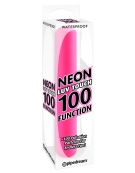 WATERPROOF NEON LUV TOUCH 100 FUNCTION PINK