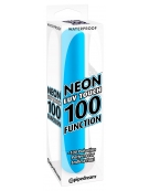 WATERPROOF NEON LUV TOUCH 100 FUNCTION BLUE