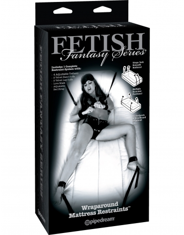 FETISH FANTASY SERIES WRAPAROUND MATTRESS RESTRAINTS