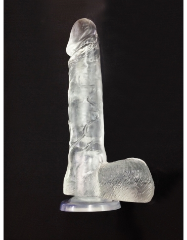 TOP CAT 8.5 INCH JELLY DONG WITH SUCTION CUP CY
