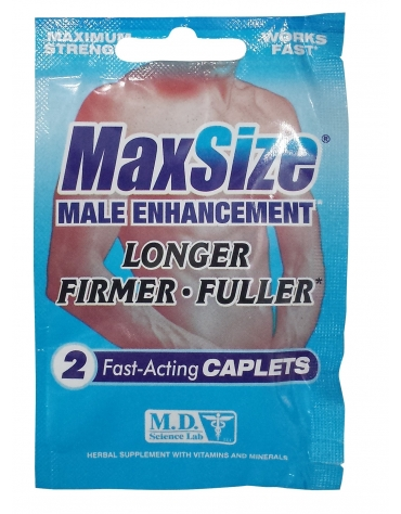MAX SIZE MALE ENHANCEMENT 2 CAPLETS