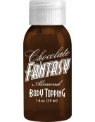 CHOCOLATE FANTASY ALMOND BODY TOPPING 1 FL. OZ. (29 ML)