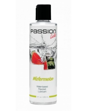 XR PASSION LICKS WATERMELON WATER-BASED FLAVORED LUBRICANT 8 FL OZ