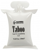 CALIFORNIA FANTASIES TABOO ANAL DESENSITIZING CREAM 0.33 FL. OZ.