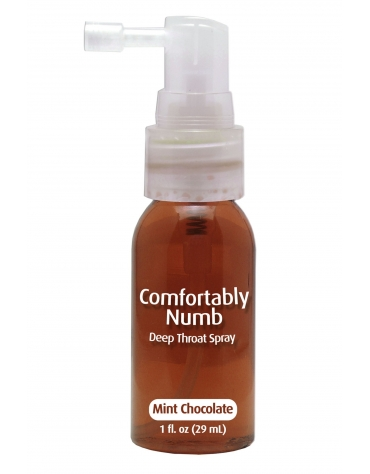 COMFORTABLY NUMB DEEP THROAT SPRAY MINT CHOCOLATE 1 FL OZ (29 ML)
