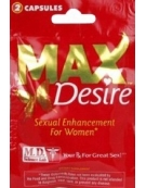 MAX DESIRE SEXUAL ENHANCEMENT FOR WOMEN 2 CAPSULE