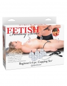 FETISH FANTASY SERIES BEGINNERS 6 PC. CUPPING SET