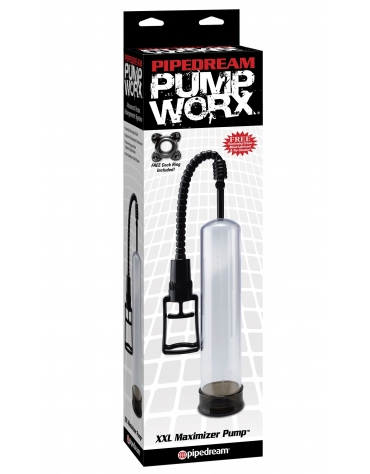 PIPEDREAM PUMP WORX XXL MAXIMIZER PUMP BLK