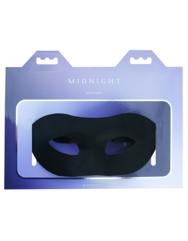 SPORTSHEETS MIDNIGHT SATIN MASK