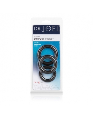 DR. JOEL KAPLAN SILICONE SUPPORT RINGS BLK
