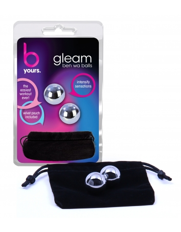 BLUSH B YOURS GLEAM KEGEL BALLS