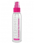 REFRESH TOY CLEANER SCENTED STRAWBERRY 4 FL OZ