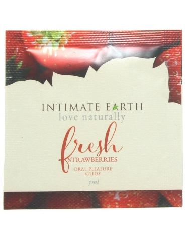INTIMATE EARTH FRESH STRAWBERRIES ORAL PLEASURE GLIDE 3ML