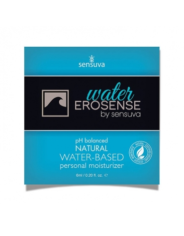 SENSUVA EROSENSE PH BALANCED WATER-BASED NATURAL PERSONAL MOISTURIZER 6ML