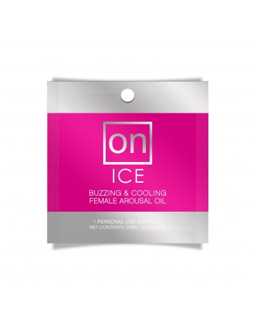 SENSUVA ON ICE BUZZING AND COOLING FEMALE AROUSAL OIL 0.3 ML