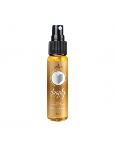SENSUVA DEEPLY LOVE YOU THROAT RELAXING SALTED CARAMEL 1 FL OZ