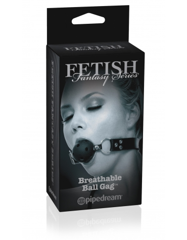 FETISH FANTASY SERIES BREATHABLE BALL GAG BLK