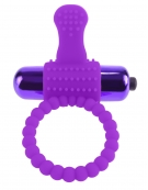 FANTASY C-RINGZ VIBRATING SILICONE SUPER RING PURPLE