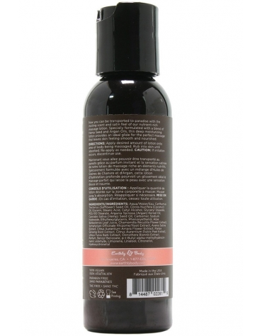 EARTHLY BODY MASSAGE LOTION ISLE OF YOU 2 FL OZ 60 ML