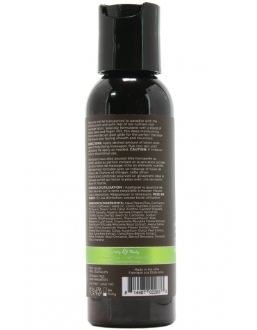 EARTHLY BODY MASSAGE LOTION NAKED IN THE WOODS 2 FL OZ 60 ML