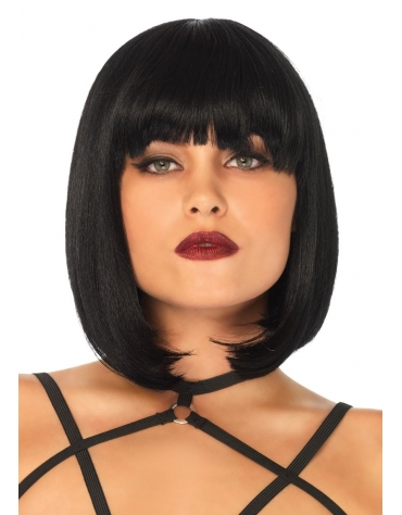 LEG AVENUE SHORT NATURAL BOB WIG OS BLACK