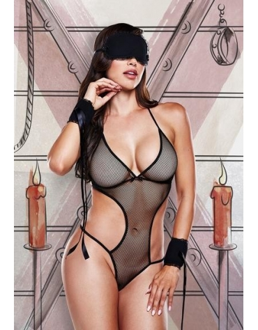 BACI LOVE SLAVE SET OS BLACK