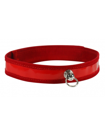 SEX AND MISCHIEF RED DAY COLLAR
