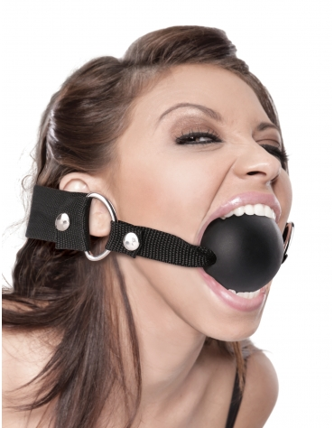FETISH FANTASY EXTREME BALL GAG BLACK
