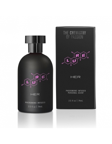 LURE BLACK LABEL PHEROMONE INFUSED FOR HER