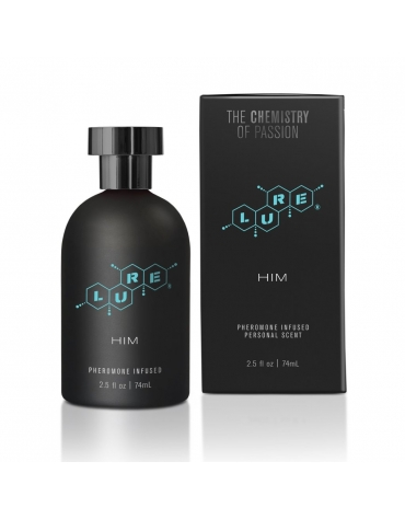 LURE BLACK LABEL PHEROMONE INFUSED FOR HIM