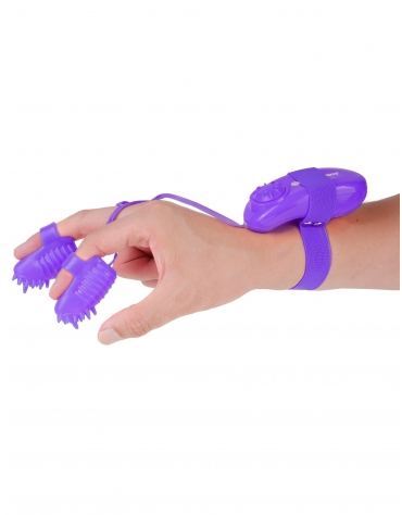 NEON MAGIC TOUCH FINGER FUN PURPLE