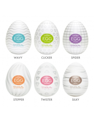 TENGA EGG 6 COLORS PACKAGE