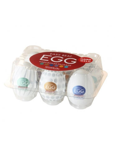 TENGA EGG 6 HARD BOILED PACKAGE