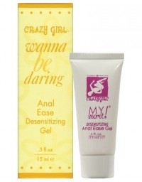 CRAZY GIRL ANAL EASE DESENSITIZING GEL .5 FL OZ