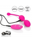 REMOTE DUAL MOTOR KEGEL SYSTEM RECHARGEABLE PINK