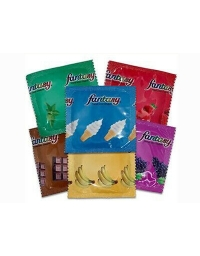 FANTASY ASSORTED FLAVORS LATEX CONDOM