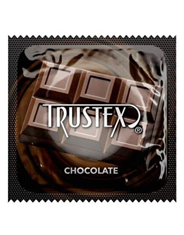 TRUSTEX CHOCOLATE LATEX CONDOM
