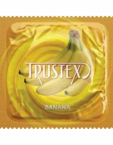 TRUSTEX BANANA LATEX CONDOM