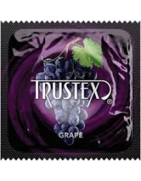 TRUSTEX GRAPE LATEX CONDOM
