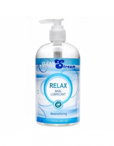 XR CLEAN STREAM RELAX ANAL LUBRICANT DESENSITIZING 17 FL OZ (503 ML)