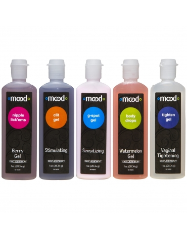 MOOD PLEASURE FOR HER 5 PACK 1 OZ. EACH